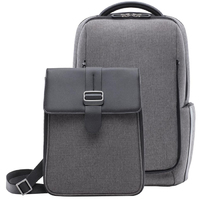 Рюкзак-сумка Xiaomi Fashion Commuter Backpack 2 в 1 (Gray)